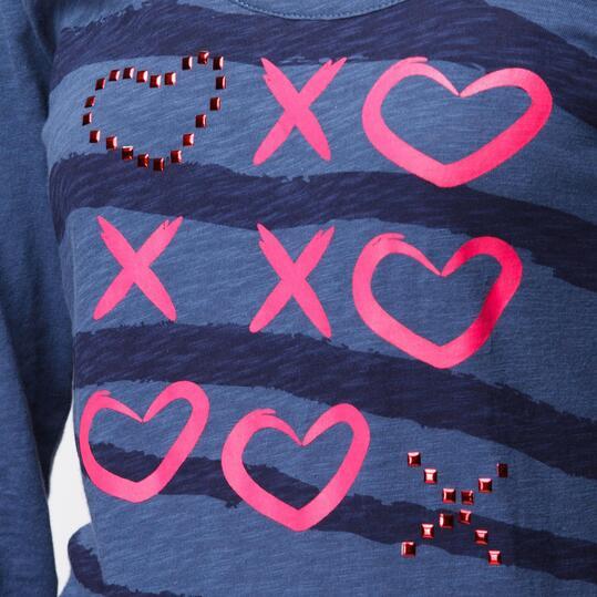 Camiseta SILVER Denim Mujer