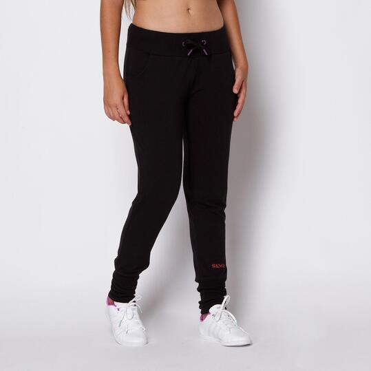 Pantalones SILVER Negro Mujer