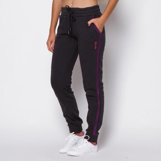 Pantalones SILVER Antracita Mujer