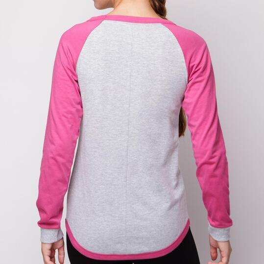 Camiseta SILVER Gris Mujer