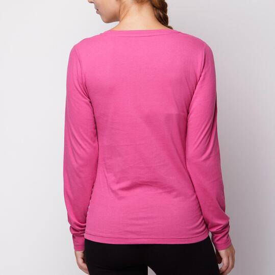 Camiseta SILVER Fucsia Mujer