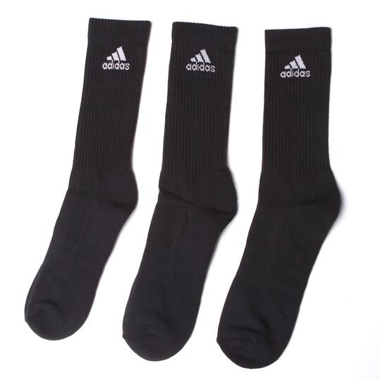 ADIDAS PERFORMANCE CREW Pack 3 Calcetines Negro Hombre