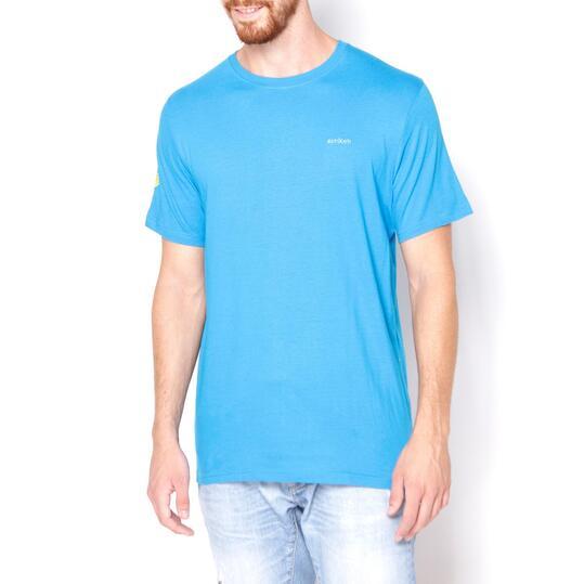 BORIKEN Camiseta Azul Hombre