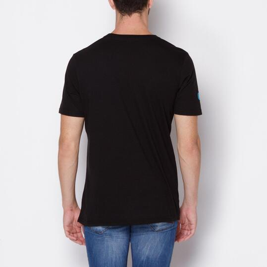 BORIKEN Camiseta Negro Hombre
