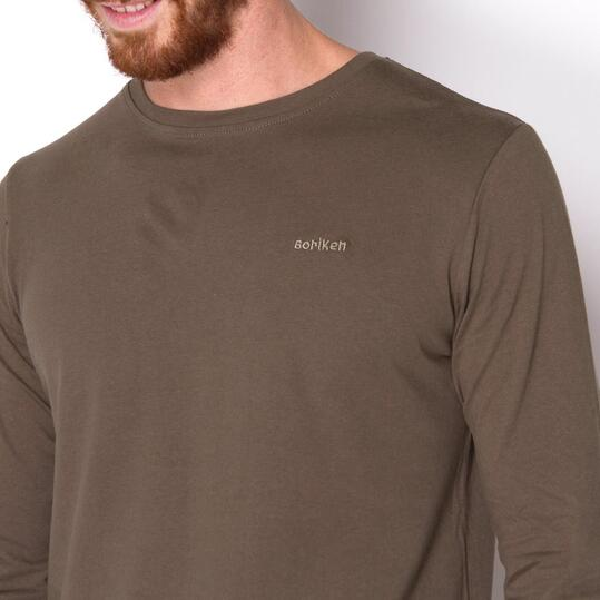 BORIKEN Camiseta Verde Hombre