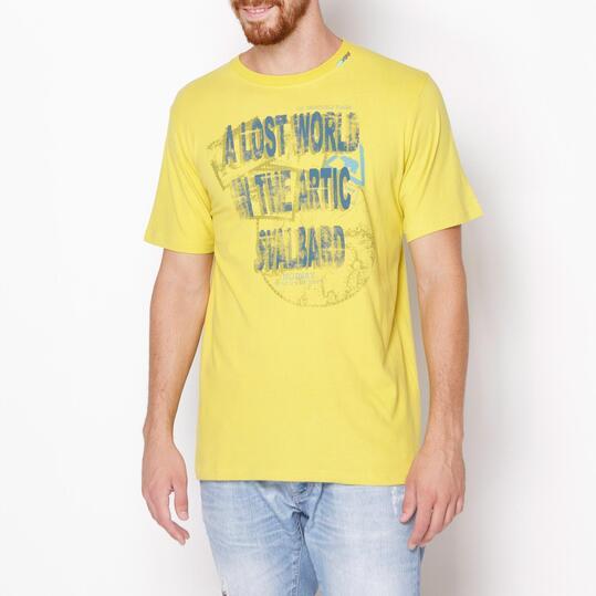 SERVAL Camiseta Verde Pistacho Hombre