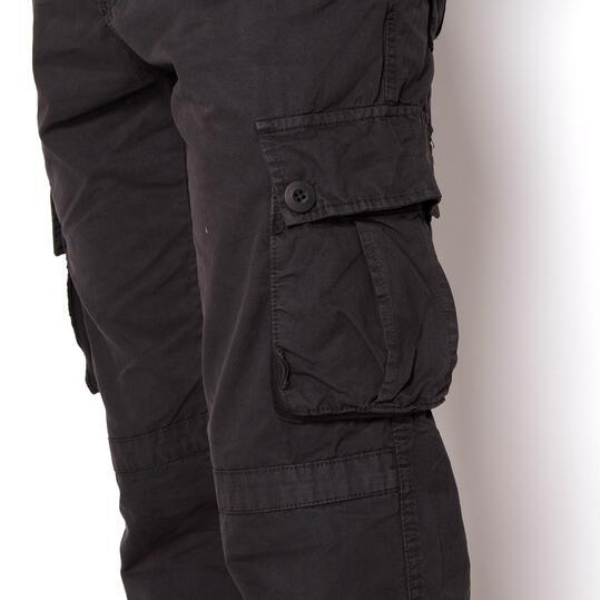 SERVAL Pantalones Antracita Hombre
