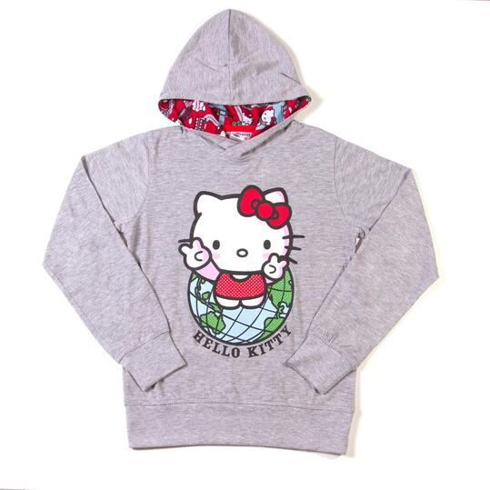 HELLO KITTY Camiseta Capucha Niña