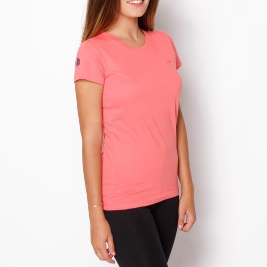 BORIKEN Camiseta Montaña Rosa Mujer