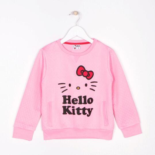 Sudadera HELLO KITTY Fucsia Niña (2-8)