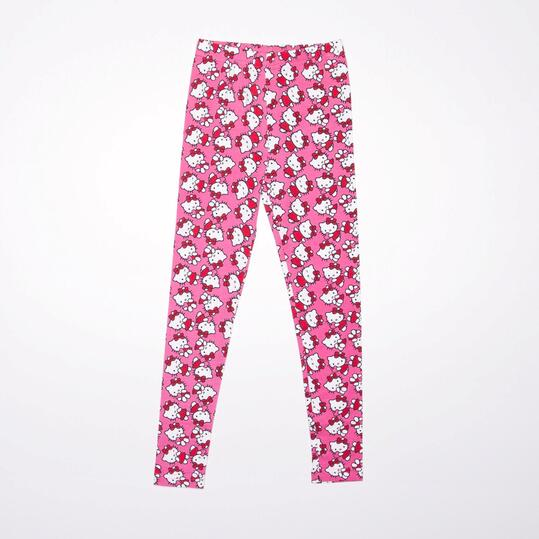 Leggins HELLO KITTY Fucsia Niña (2-8)