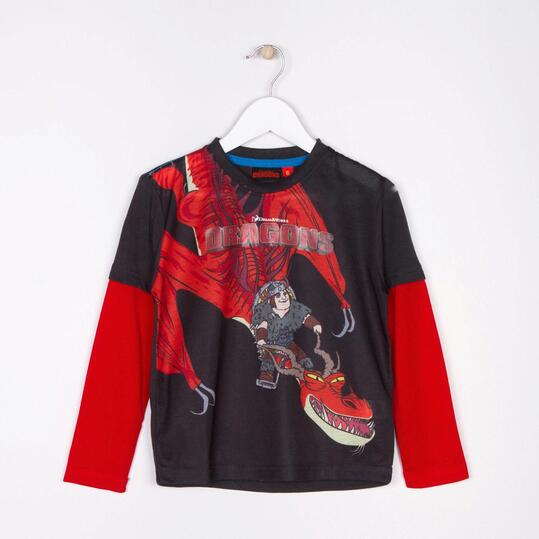 Camiseta Manga Larga DRAGON Niño (2-8)