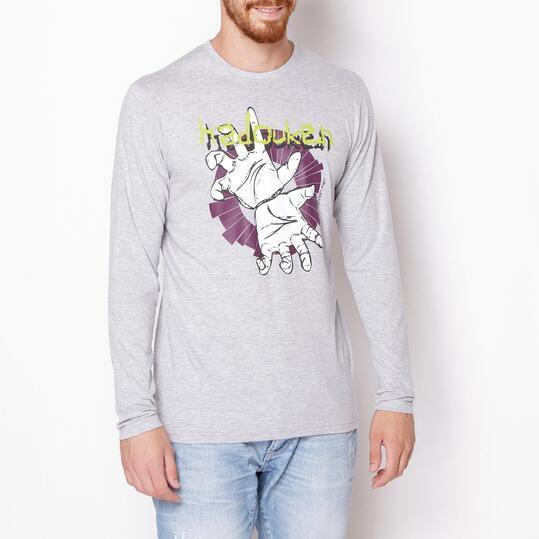Camiseta UP Gris Hombre
