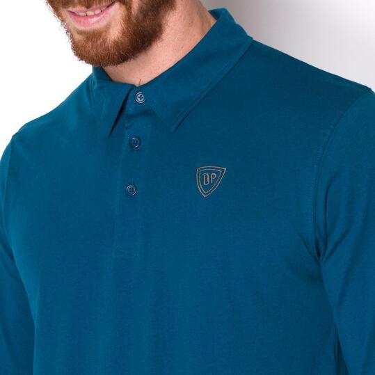 UP Polo Azul Hombre