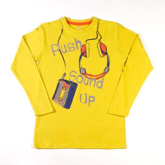 UP Camiseta Pistacho Niño (10-16)