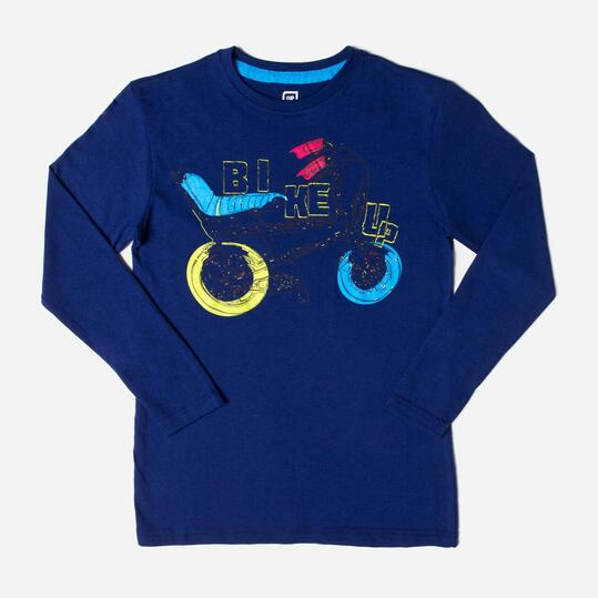 UP Camiseta Marino Niño (10-16)