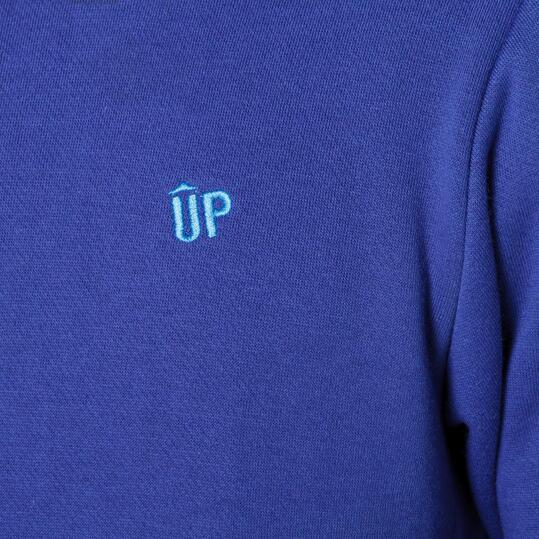 UP Sudadera Azul Hombre