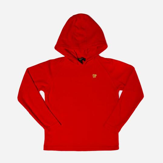 UP Sudadera Polar Rojo Niño (10-16)