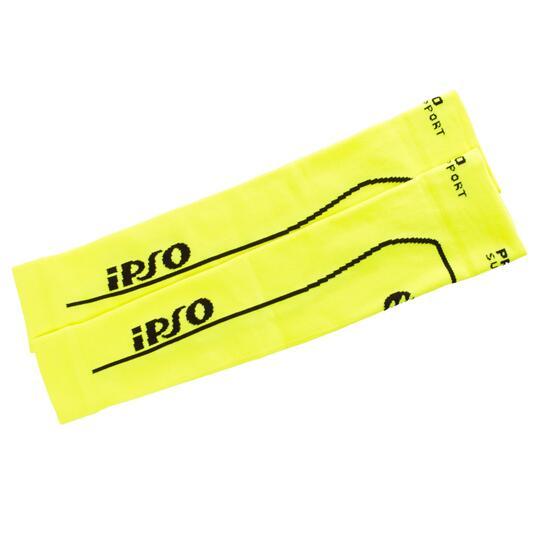 Manguito Compresión Running IPSo Amarillo
