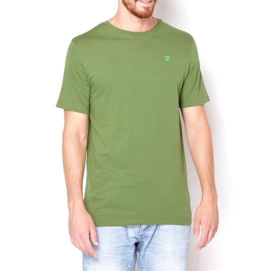 UP Camiseta Manga Corta Verde Hombre