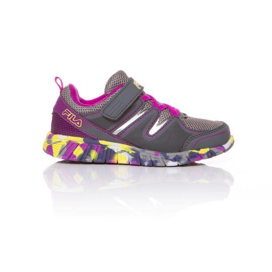 FILA CRATER Zapatillas Running Gris Niña (22-27)