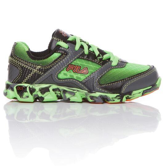FILA ULTRALOOP Zapatillas Running Verde Niño (28-35)
