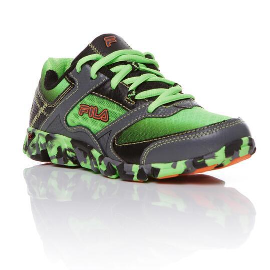 FILA ULTRALOOP Zapatillas Running Verde Niño (36-39)