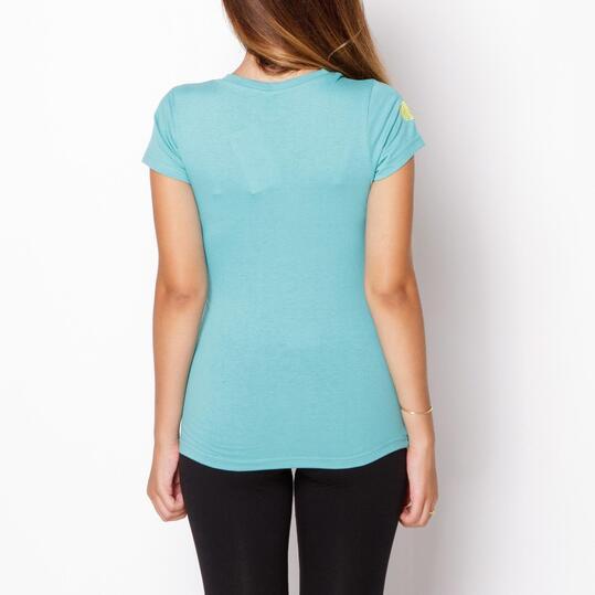 BORIKEN Camiseta Verde Mujer