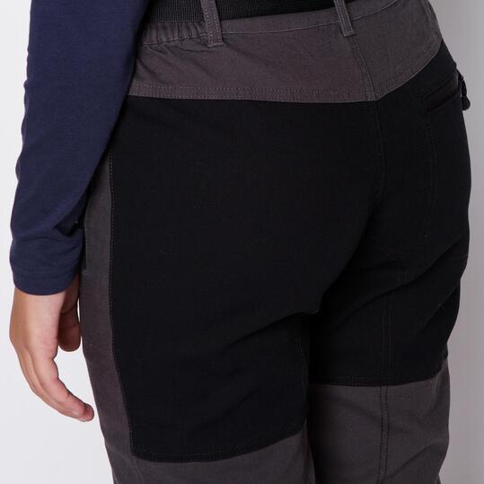 BORIKEN Pantalones Gris Mujer