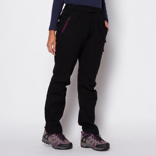 BORIKEN Pantalones Antracita Mujer