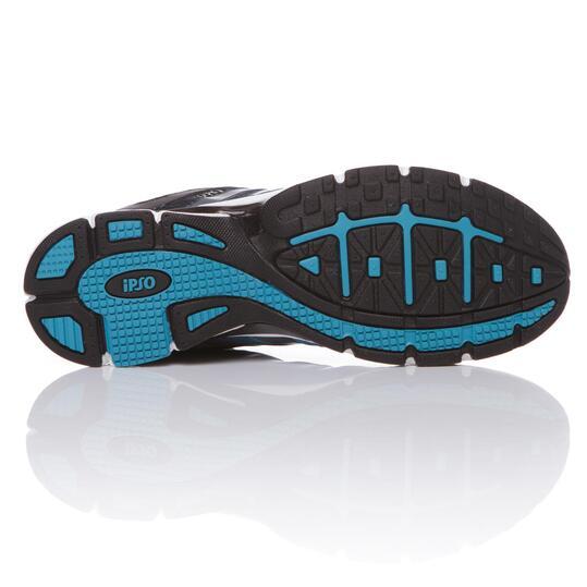 Zapatillas Running IPSO KNUP Negro Hombre