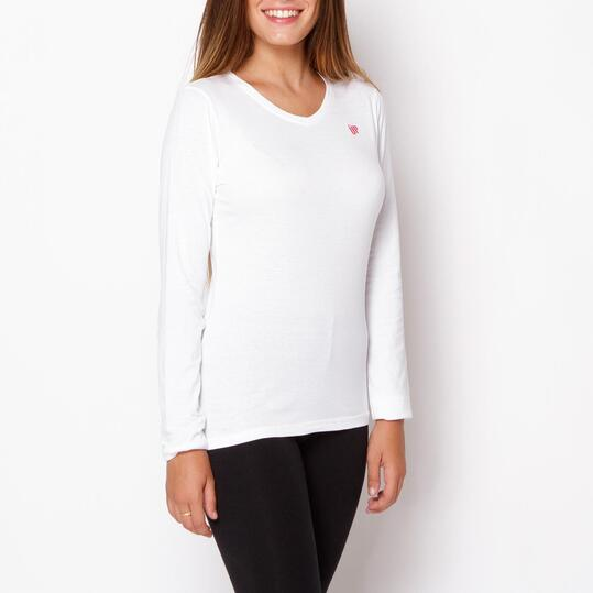 Camiseta UP Blanco Mujer