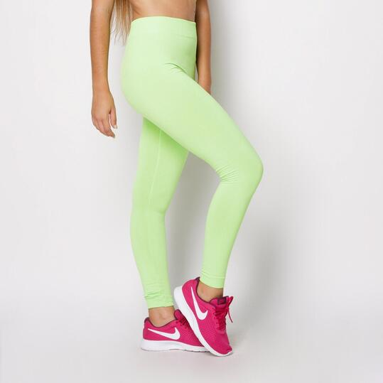 Leggings UP Verde flúor Mujer