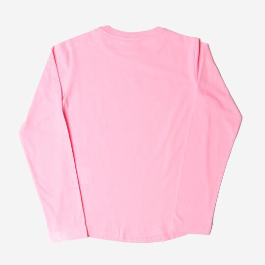 CHAMPION Camiseta Manga Larga Rosa Niña (8-14)
