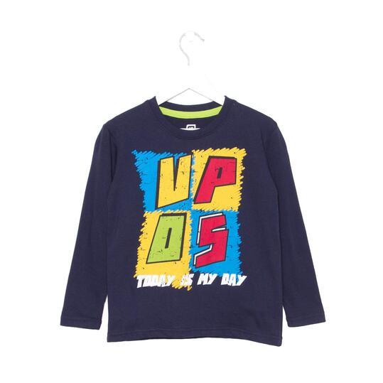 UP Camiseta Marino Niño (2-8)