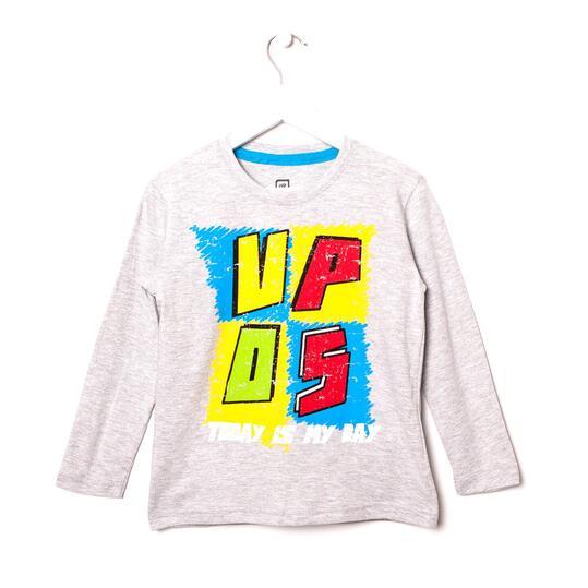 UP Camiseta Gris Niño (2-8)