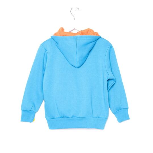 UP Sudadera Azul Naranja Niño (2-8)