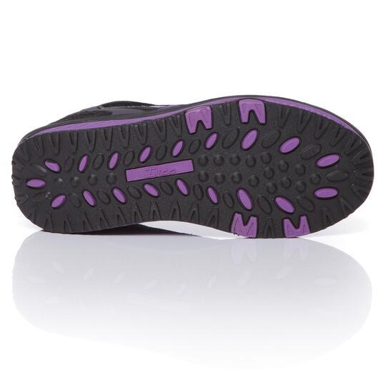 Zapatillas Aeróbic ILICO Fit Walk Negro Mujer