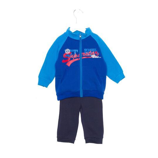 UP Chándal Azul Baby (9m-18m)