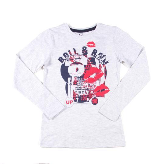 UP Camiseta Blanco Niña (10-16)