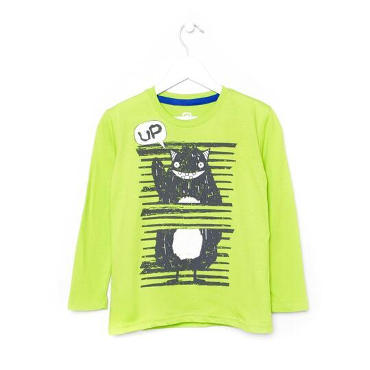 UP Camiseta Verde Pistacho Niño (2-8)