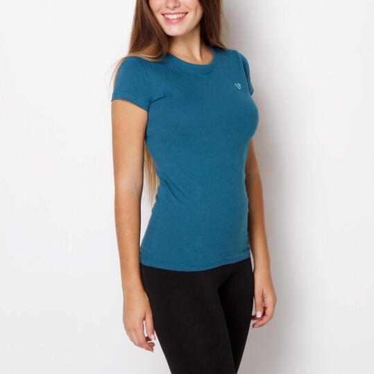 UP Camiseta Azul Mujer