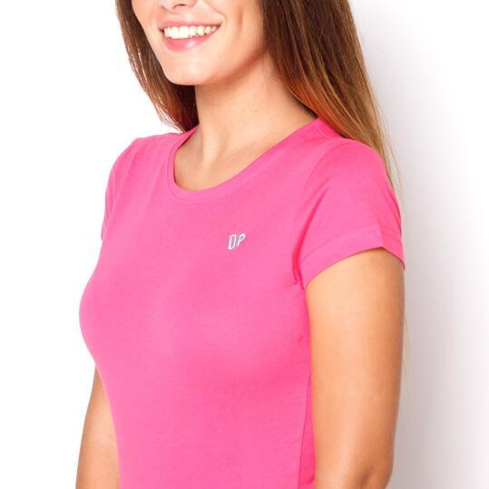 UP Camiseta Fucsia Mujer