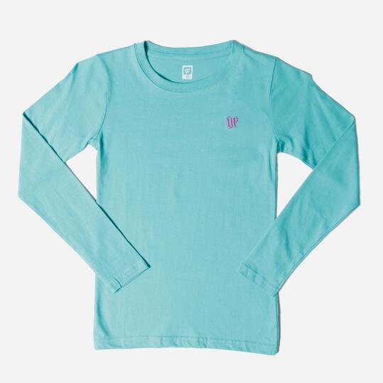 UP Camiseta Manga Larga Verde Niña (10-16)