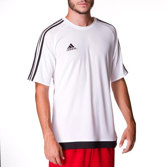 Camiseta ADIDAS Estro 15 Blanco Hombre