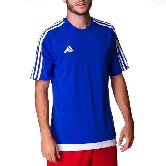 Camiseta ADIDAS Estro 15 Azul Hombre