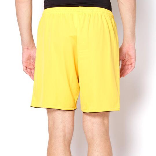 ADIDAS Pantalón Fútbol Amarillo Hombre