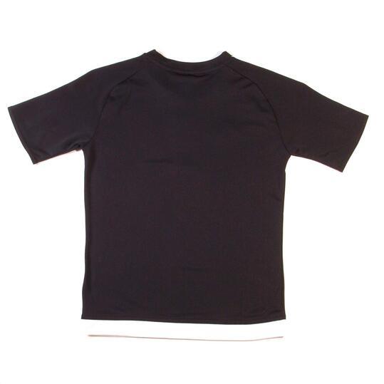 camiseta adidas negra niño