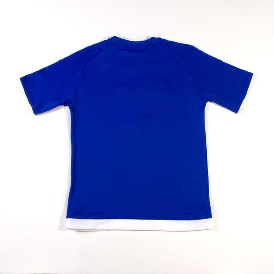 ADIDAS ESTRO Camiseta Fútbol 15 Azul Niño (8-14)