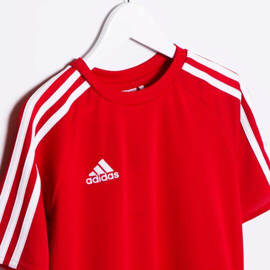 ADIDAS ESTRO Camiseta 15 Rojo Niño (8-14)